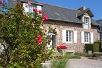Rosen blühen vor dem Ferienhaus