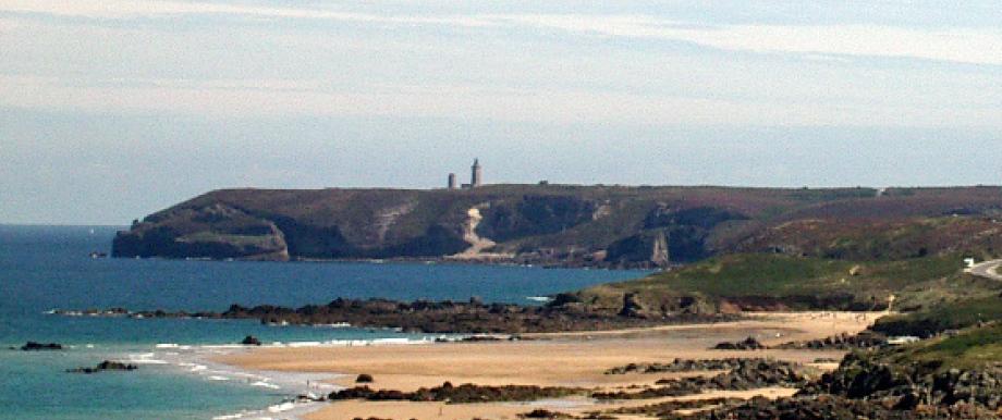Blick zum Cap Fréhel, Bretagne.